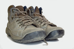 Steelcapped boots Royalty Free Stock Images