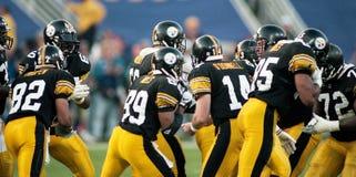 Steelers przerwa skupisko fotografia royalty free