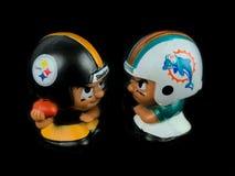 Steelers v ` L игрушки Li дельфинов товарищей по команде стоковые фотографии rf
