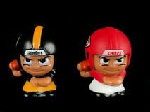 Steelers v Teammates Toy Figures van Leidersli ` l royalty-vrije stock afbeelding