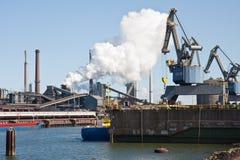 steelfactory Nederländerna Royaltyfri Bild