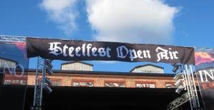 Steelfest под открытым небом Стоковое Изображение