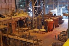 Steelmaking Royalty Free Stock Photos