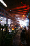 Steelmakingjärnarbeten Arkivbilder