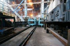 Steelmakingjärnarbeten Royaltyfri Fotografi