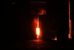 Steelmakingjärnarbeten Arkivfoton
