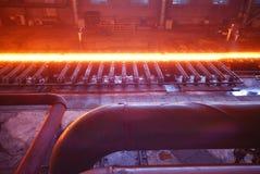 Steelmakingjärnarbeten Arkivfoto