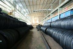 Steelmakingjärnarbeten Arkivbild