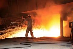 Steelmakingseminarium Royaltyfria Foton