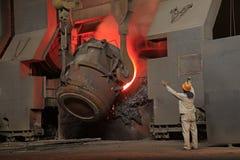 Steelmakingseminarium Royaltyfria Bilder