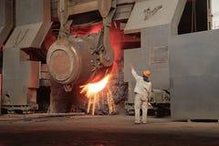 Steelmakingseminarium Fotografering för Bildbyråer