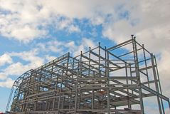 Steelwork and Blue Sky Royalty Free Stock Photography