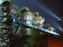 Steelworks royalty free stock photo