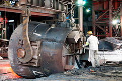 Steelworks Royalty Free Stock Images