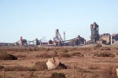 Steelworks fabryczny zewnętrzny Południowa Afryka Obraz Royalty Free