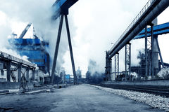 Steelworks Stock Image