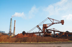 Steelworks Royalty Free Stock Image