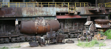 Steelworks Vitkovice Royalty Free Stock Photography