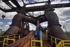 Steelworks Vitkovice stock photo