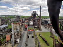Steelworks Vitkovice Stock Photos