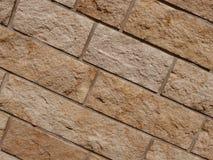 Steen of bakstenen muur Royalty-vrije Stock Fotografie