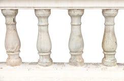 Steen bannister pijlers Royalty-vrije Stock Fotografie