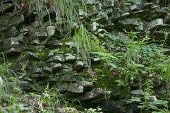 Steen in berg Stock Afbeelding