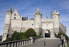 The Steen castle in Antwerp Royalty Free Stock Photo