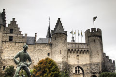 The Steen castle in Antwerp Royalty Free Stock Photography