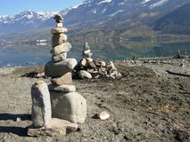 Steen de Bouw dichtbij Sarnen, Zwitserland Royalty-vrije Stock Afbeelding