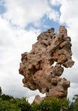 Steen in de Hemel Stock Foto