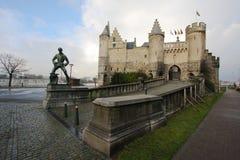 Steen en Amberes Imagenes de archivo
