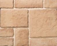Steen en baksteenmetselwerkmuren Royalty-vrije Stock Afbeelding