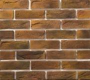 Steen en baksteenmetselwerkmuren Stock Foto