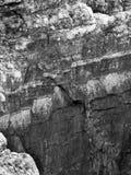 Steen en de geologie Stock Foto's