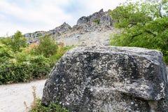 Steen en in natuurreservaat de Vallei van Spoken Royalty-vrije Stock Afbeelding