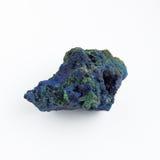 Steen gelijkend op een asteroïde op een witte achtergrond Royalty-vrije Stock Foto