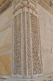 Steen het snijden in Nagina masjid (moskee), chapaner, Gujarat Royalty-vrije Stock Foto's