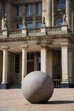 Steen in het Stadhuis van Birmingham Stock Foto
