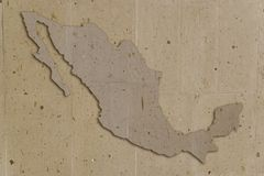 Steen Mexico stock illustratie
