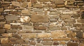 Steen oude muur Royalty-vrije Stock Afbeelding