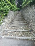 Steen pathwalk Royalty-vrije Stock Foto