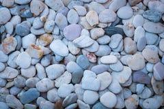 Steen witte en blauwe achtergrond Royalty-vrije Stock Fotografie