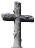 Steenachtig christelijk kruis Royalty-vrije Stock Foto's