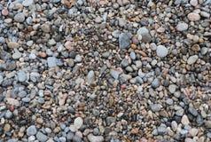 steenachtig strand royalty-vrije stock fotografie