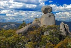 Steenachtige bergen Royalty-vrije Stock Afbeeldingen