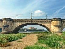 Steenachtige brug Royalty-vrije Stock Afbeelding