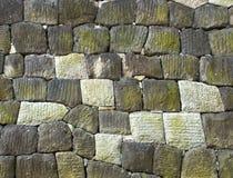 Steenachtige muur Stock Foto