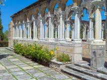 Steenarchitectuur in de Tuinen van Versailles Stock Afbeelding