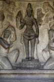 Steenbeeldhouwwerk in Chennai India royalty-vrije stock afbeelding